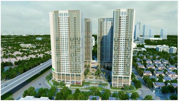 Chung cư Eco Green City - Nguyễn Xiển - Liền kề khu The Manor giá chỉ từ 26tr/m2